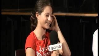 Fazıl Say ve milli sporcu kızı Kumru Say SportsTv röportajında