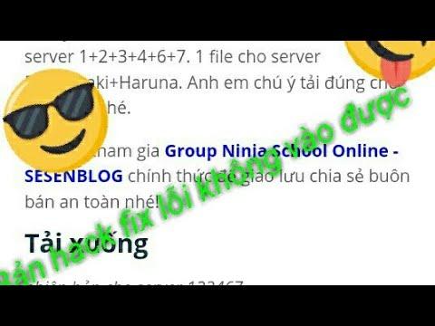 tai game ninja school online hack level - Hướng dẫn cách tải bản hack ninja school online fix lỗi ko vào được || NVH GAMING