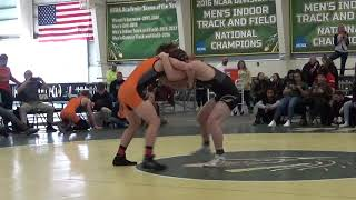 165 m, Justin West, UF vs Derek Gross, TU