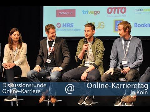 Diskussionsrunde Online-Karriere, Online-Karrieretag 2016 Köln