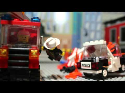 Lego Extreme Fire Fighter Rescue Squad