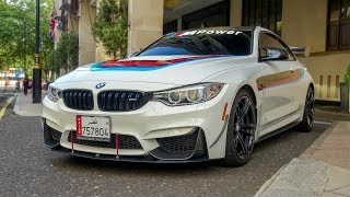 (MODIFIED) BMW M4 F82 Coupe INVASION in London! Exhaust SOUNDS!