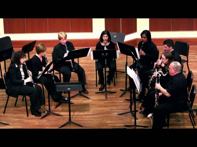 Chicago Clarinet Ensemble and NEIU Clarinet Studio:  Paquito by Andy Scott, live performance