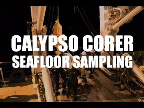 Collecting Seafloor Samples [MIRAGE RESEARCH EXPEDITION]