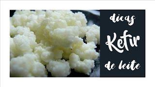 Kefir de leite – Passo a passo (como preparar; como fazer iogurte grego e cream cheese)