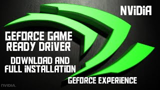How to update Nvidia GeForce game ready driver| Download and installation of GeForce experience 2019