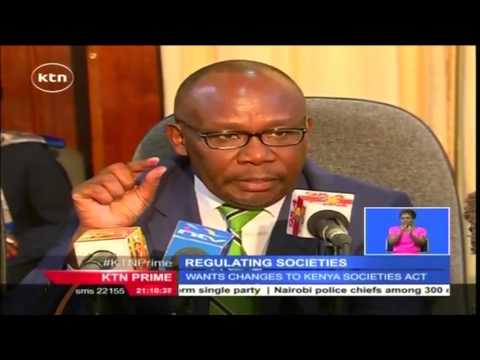 Kenya Law Reform submits recommendation to AG for review of registration of societies