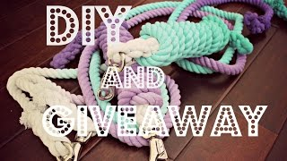DIY | OMBRÉ LEAD ROPES & GIVEAWAY