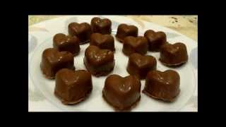 receta bombones de chocolate muy fcil