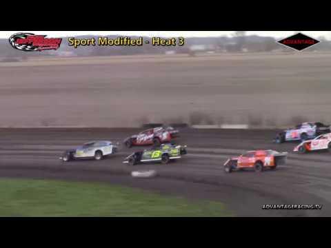 Sport Modified Heats - Park Jefferson Speedway - 5/5/18