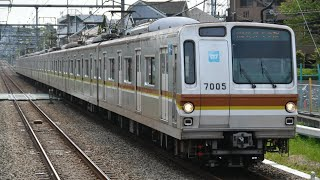 東京メトロ7000系 各停 小手指行