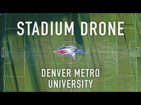 Stadium Drone - Metropolitan State University of Denver