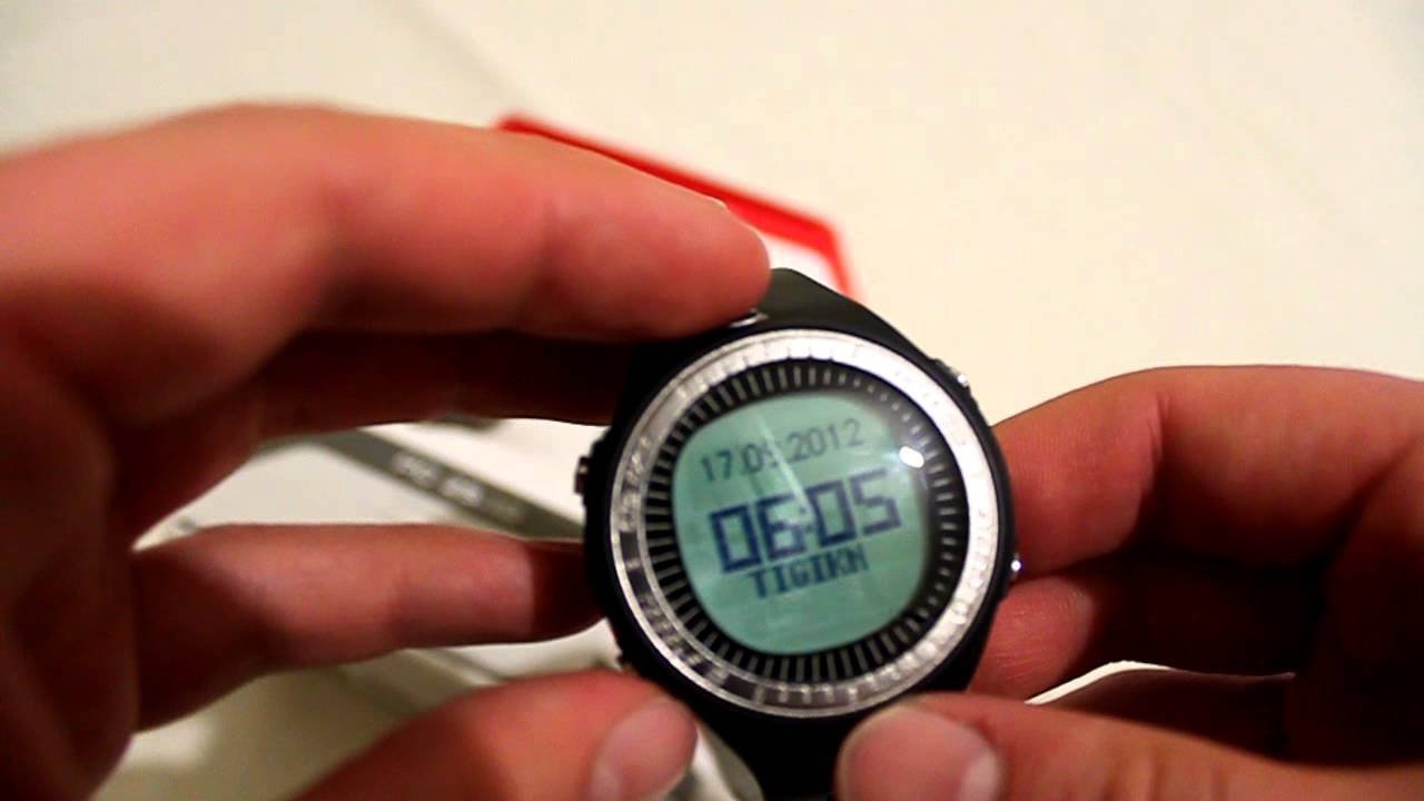 Sigma Pc 25 10 Watch Heart Rate Monitor Youtube