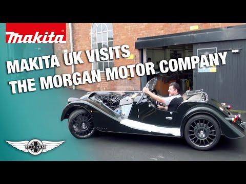 Makita UK Visits The Morgan Motor Company
