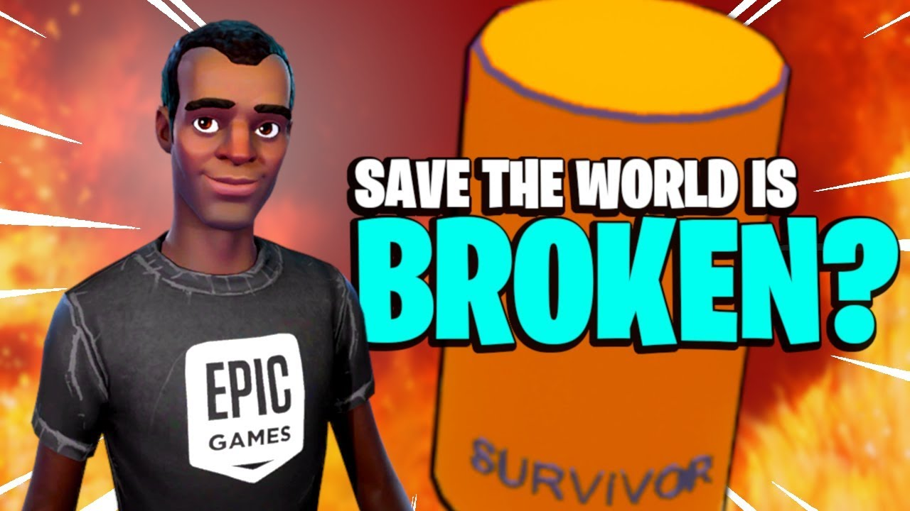 IS IT REALLY BROKEN? Fortnite Save the World | Bugs, Duplication Glitch, Crashes & Console Lag |