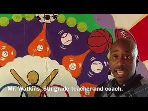Bunche Elementary School Mural
