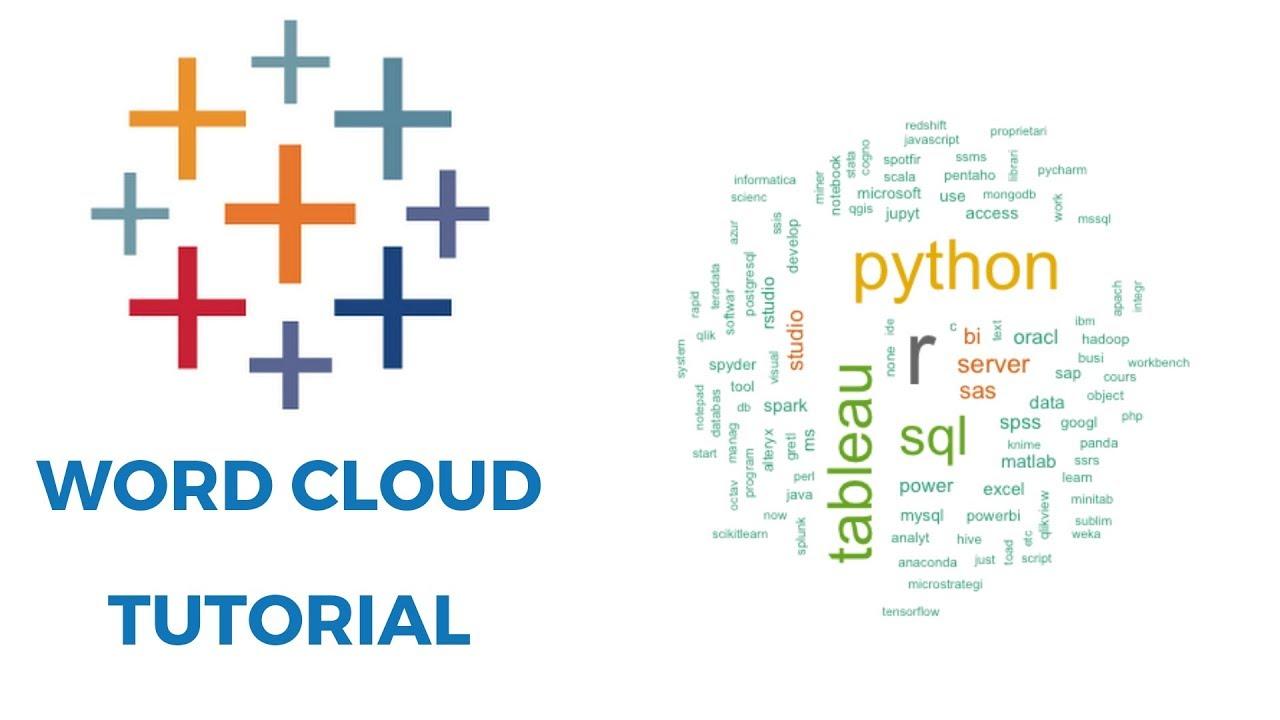 Word cloud tableau tutorial youtube word cloud tableau tutorial gumiabroncs Gallery