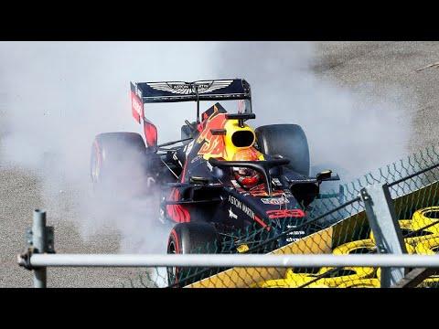 Start Formula 1 Spa Francorchamps Crash Max Verstappen First