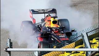 Start Formula 1 - Spa Francorchamps Crash Max Verstappen First Corner 2019