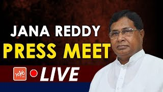 Jana Reddy Press Meet LIVE   Telangana Congress   Mahakutami Seats   Uttam Kumar Reddy   YOYOTV
