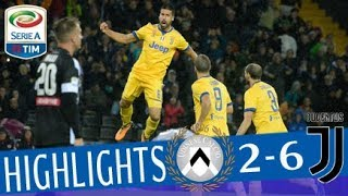 Udinese - Juventus 2-6 - Highlights - Giornata 9 - Serie A TIM 2017/18 streaming