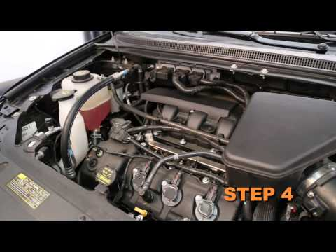 2011, 2012, 2013 & 2014 Ford Edge 3.5/3.7L Air Intake Installation