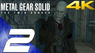 Metal Gear Solid Twin Snakes HD - Walkthrough Part 2 - Ocelot Boss Fight [4K 60fps]