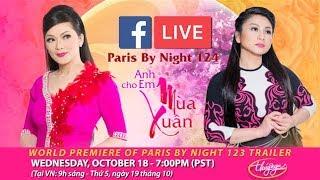 Livestream với Như Quỳnh & Tâm Đoan - giới thiệu show thu hình PBN 124