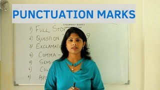Punctuation Marks - Tips to improve writing skills