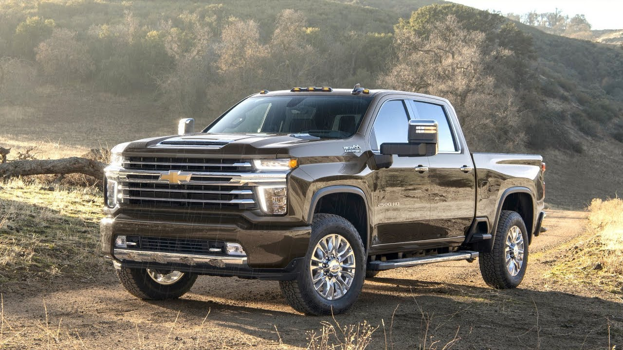 2020 chevrolet silverado 2500 hd high country - youtube