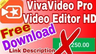 VivaVideo Pro Apk Free Download_HD Video Editor Full Version Unlocked_Shohag Technical Pro.