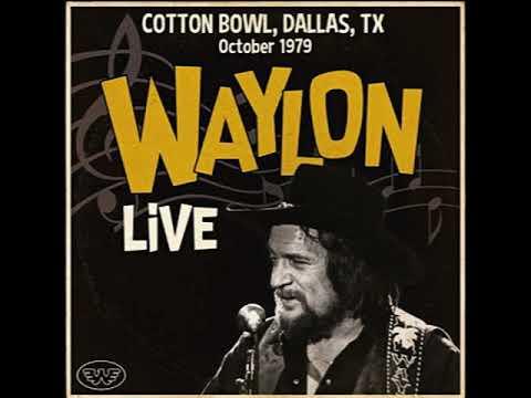 Waylon Jennings - Cotton Bowl Dallas Texas October 1979