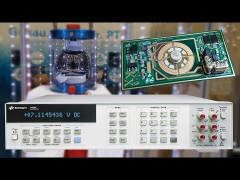 Ultra Precision Voltage Reference and Maker Faire Hannover 2018
