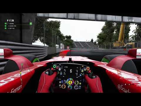 F1 2017 Career Mode | Part 16 | Canada: RACE Gameplay 60FPS HD