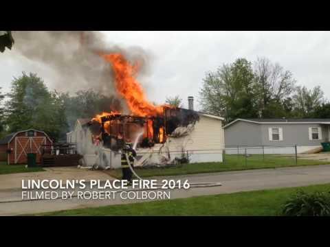 MOBILE HOME FIRE- LINCOLN