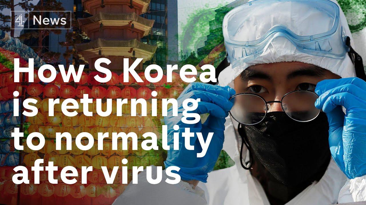 South Korea virus response held up as model for world