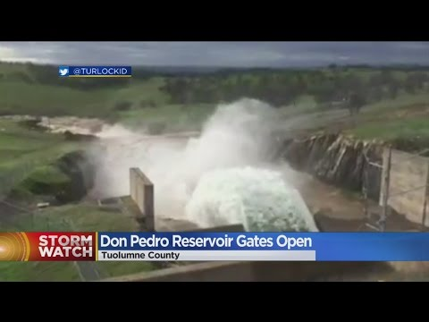 Thumbnail: Don Pedro Spillway Opens For First Time Since 1997