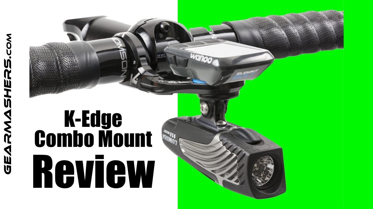 31.8mm K-Edge Wahoo ELEMNT Go Pro Combo Handlebar Mount