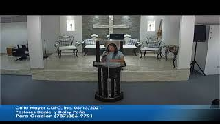 Culto Mayor Igl CDPD Dorado P.R. 06/13/2021