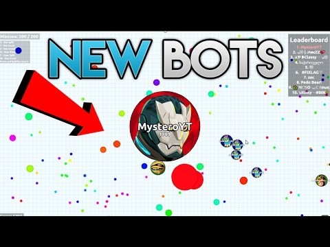*NEW* BOTS AGAR.IO! BOTS ARE BACK 200 BOTS RAGA.PW // NEW WORKING BOTS AFTER PATCH AGAR.IO!!