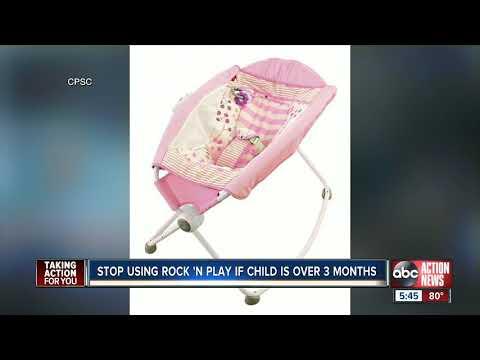 Sarykarmen Rivera  - Si tienes esta mecedora para bebé en tu casa no la uses