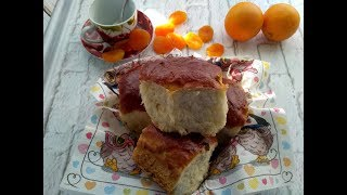 Воздушные булочки с изюмом .Рецепт очень простой , но булочки получаются нежные и мягкие.