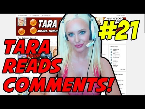 HOW TO CUM TRIBUTE!? - TARA READS COMMENTS! #21 - ???