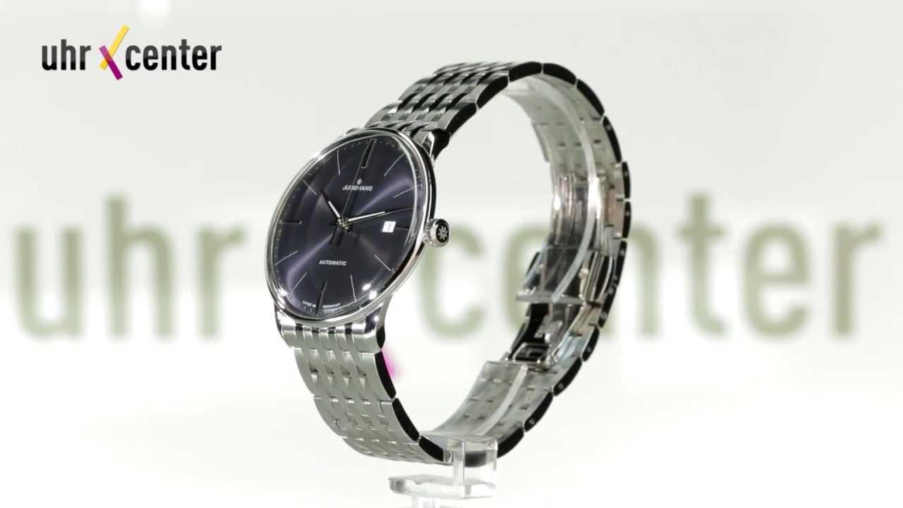ce97c287c75a3 Junghans 027 4313.44 Meister Classic Automatik Herrenuhr - YouTube