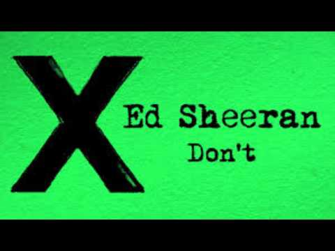 Ed Sheeran - Don't (Sped Up)