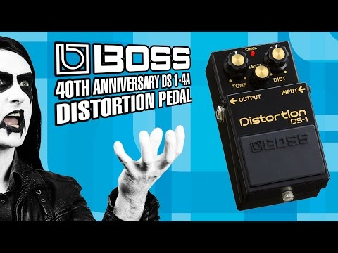BOSS DS-1 40th Anniversary Distortion Pedal - Derringers Music