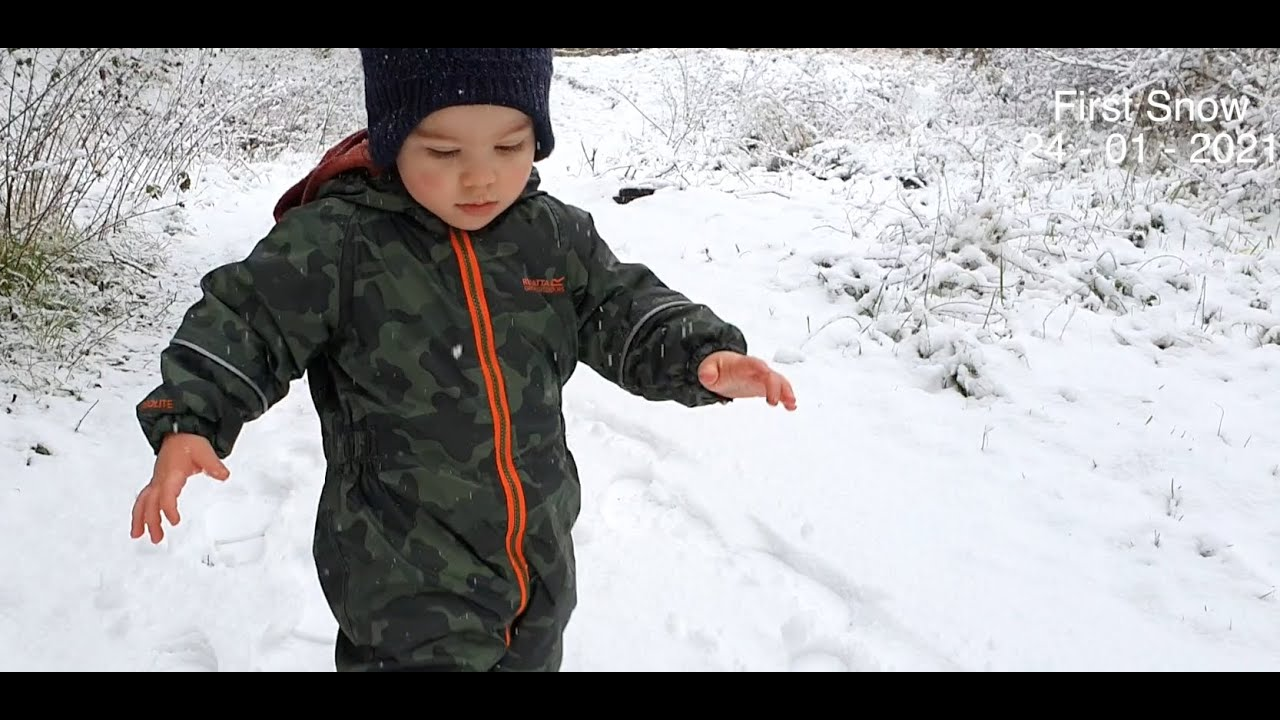SNOW TIME ❄⛄  of Winter and Snowball fight with Jupiter  24   01   2021