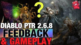 PTR Feedback 2.6.8 Frenzy, Hydra, Spirit Barrage Diablo 3 Season 20
