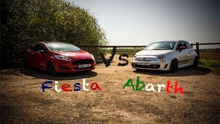 Abarth 500 Vs Fiesta Ecoboost Red Edition