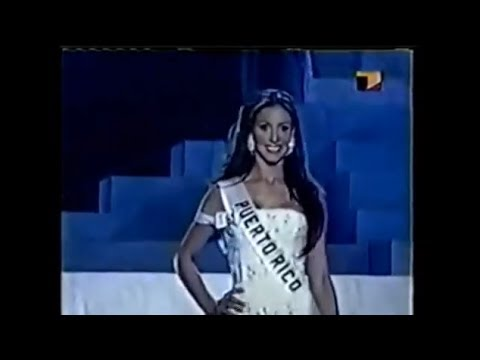 Alba Reyes in the Miss Universe 2004 preliminary competition